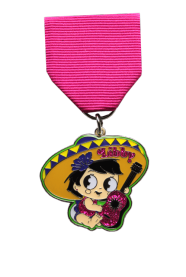 2017 Fiesta Medal Design for Seniorita Libby