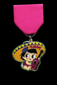 2017 Fiesta Medal Design for Seniorita Libby