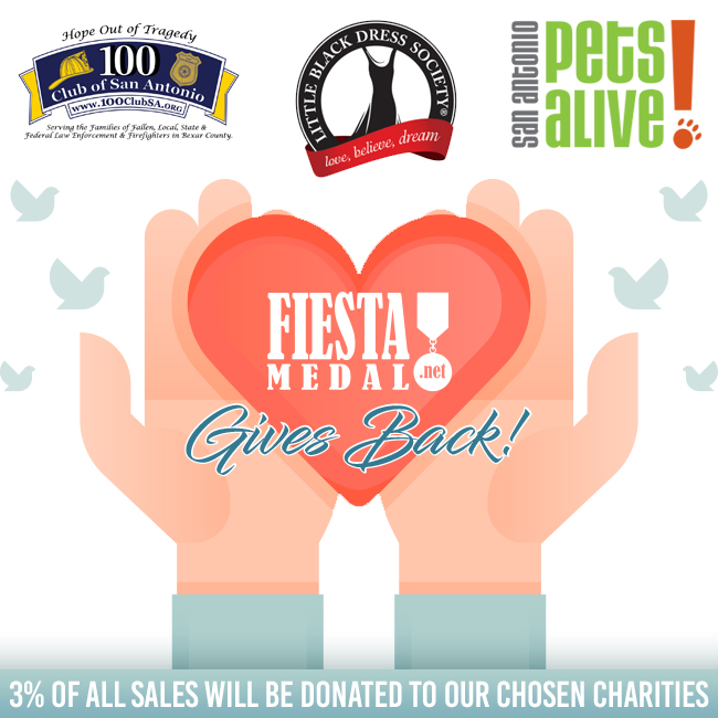 Fiesta Medal Celebrates 2018 Fiesta By Giving Back To The Community