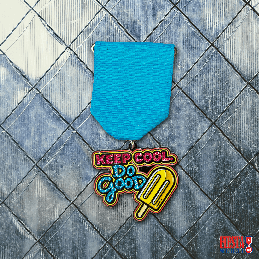 Keep Cool Do Good Fiesta Medal