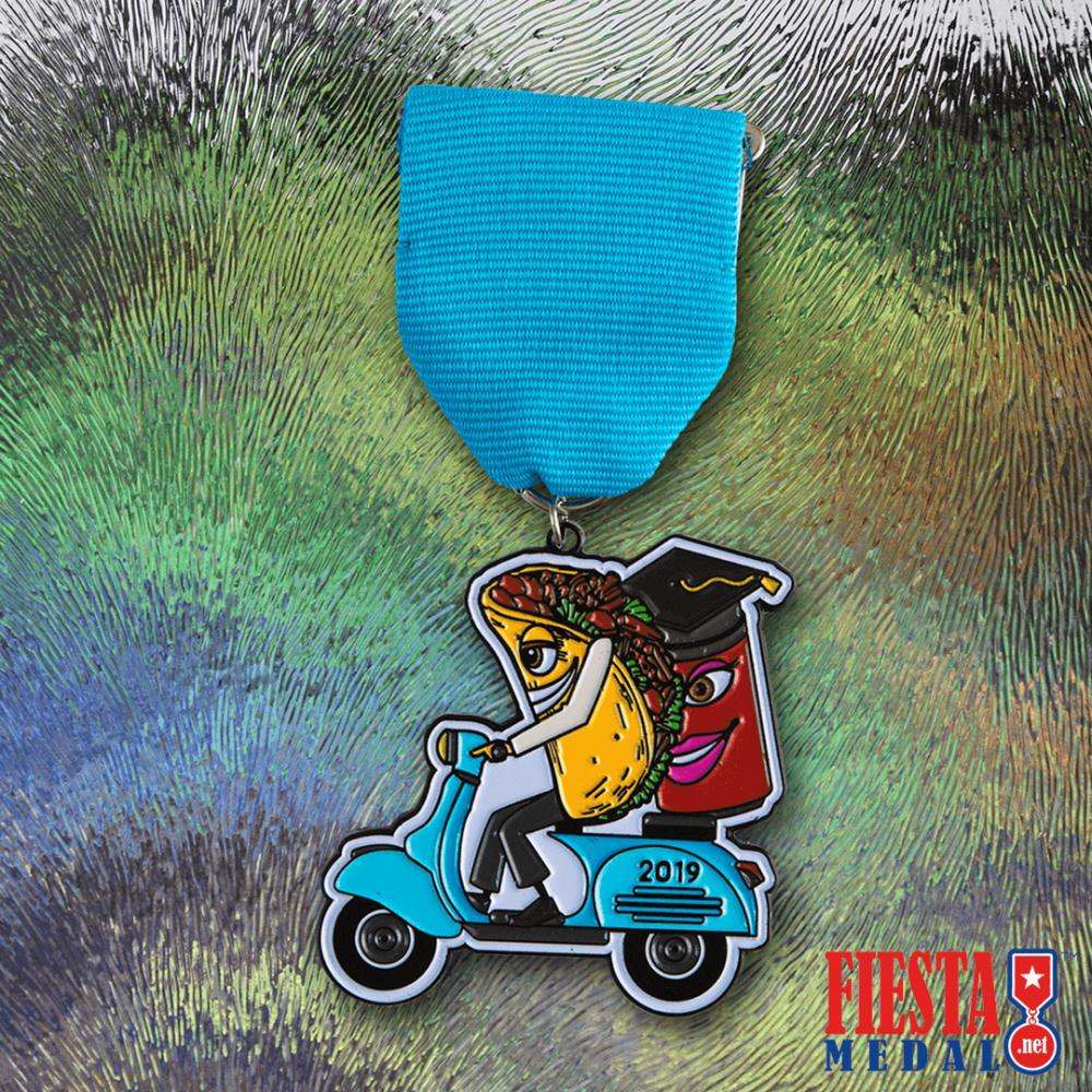 Taco Graduate Fiesta Medal