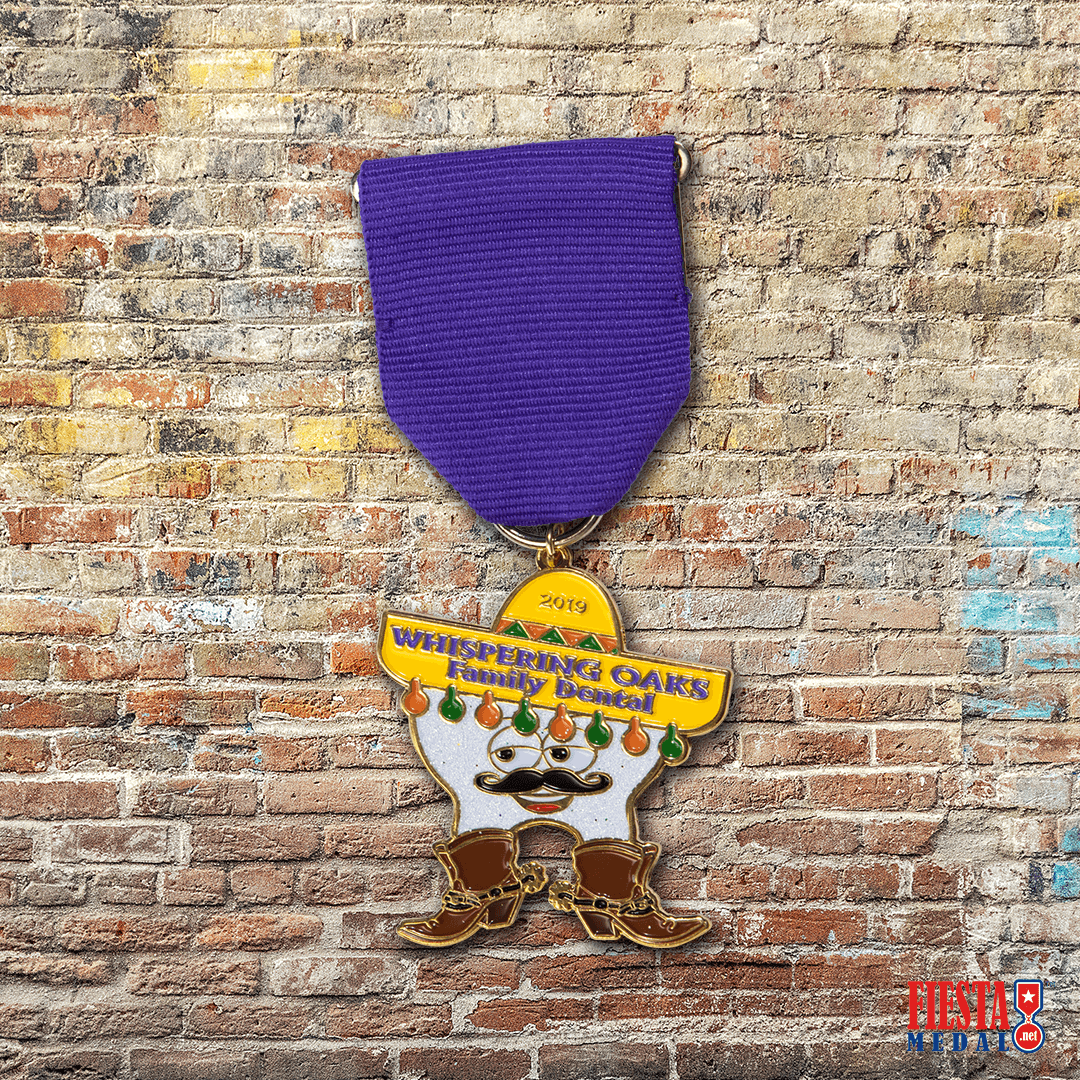 Whispering Oaks Fiesta Medal